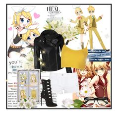 """""""Anime -vocaloid"""" by crazyanime ❤ liked on Polyvore featuring Mackage, Topshop, J Brand, Alaïa, Wildfox and NDI"""