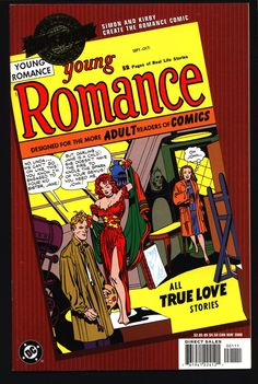 DC Comics Millennium Edition: Young ROMANCE Jack Kirby,Joe Simon,Bill Draut, Love Comic Book