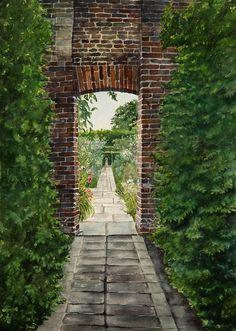 Sissinghurst castle - homewoodfineartamerica.com