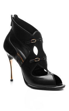 Leather Open-Toe Sandals by Nicholas Kirkwood