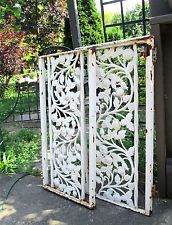 Vtg Antique Wrought Iron Window Guard Shutters French Victorian Rose Fence Panel Shutters, Window Box, Victorian, Vintage Roses, Iron Windows, Victorian Rose, Solar Lanterns, Fence Panels, Wrought Iron