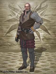 The Witcher 3 - Damien de la Tour by MoogleOutFitters