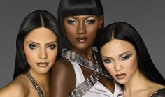 Find out which IMAN Cosmetics curated looks fits within your personal style. Whether you bare it all or are a femme fatale, we have the perfect makeup look for you. Cool Makeup Looks, Perfect Makeup, Colors For Dark Skin, New Hair Colors, Beauty Skin, Beauty Makeup, Hair Beauty, Makeup Tips, Eye Makeup