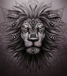 Lion #art #cool #beautiful