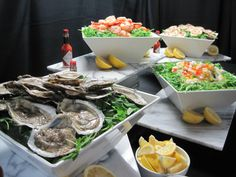 CATERING  PRACTICE DEMO RAW BAR