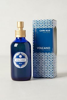 My favorite scent - Capri Blue Volcano - now in a Room Spray! Spritz your closet and it's like living in #Anthropologie | #AnthroFave