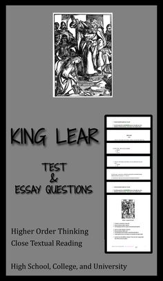 King Lear  Summary   Characters   Video   Lesson Transcript   Study com