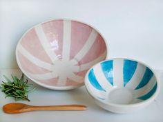 Set of ceramic bowls medium and large by viruset on Etsy. $24.37, via Etsy.