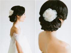 faux bob bridal hairstyle / photography: http://ciara-richardson.com/ hair & makeup: http://hairandmakeupbysteph.com/