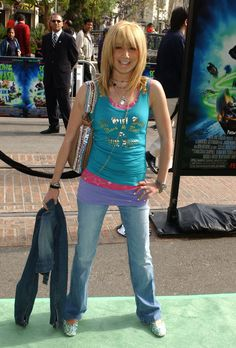 The time she layered up on both necklaces and tanks: | 17 Times Ashley Tisdale Had Some Very Early 2000s Fashion Moments