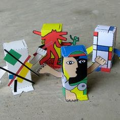 Artist Block Series: Keith Haring, Kazimir Malevich, Piet Mondrian, and Pablo Picasso