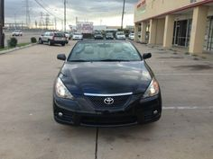 Nice!! 2007 Toyota Camry Solara convertible only at $6,500.