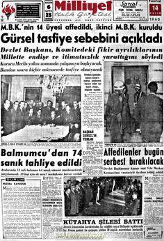 Milliyet gazetesi 14 kasım 1960