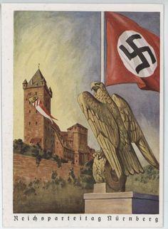 """""""Reichsparteitag Nürnberg"""": 1939 German Postcard"""