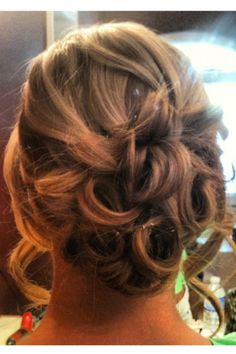 Cute up do...for the wedding?