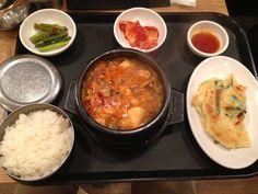 Lunch 2013.01.03 at a Korean restaurant.
