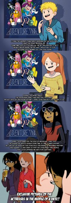 Adventure Time AU '' Behind the Scenes''   Adventure Time
