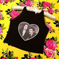 Addam's Family Morticia and Gomez Forever!Cropped tank topSIZING:*Small (Sz - - 25 - (Sz - 34 - - (Sz - 36 - - 30 - weeks to ship Cropped Tank Top, Crop Tank, Tank Tops, Punk Outfits, Fashion Outfits, New York Girls, Dressed To Kill, Dark Fashion, Indie Brands