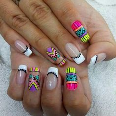 La imagen puede contener: una o varias personas y primer plano Uñas Fashion, Manicure E Pedicure, Summer Nails, Pretty Nails, Nail Colors, Acrylic Nails, Nail Designs, Nail Art, Beauty