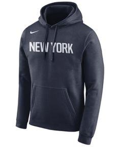 new style e4f79 9e414 Nike Men s New York Knicks City Club Fleece Hoodie   Reviews - Sports Fan  Shop By Lids - Men - Macy s