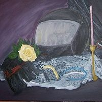 Dedicated to the fallen - 2012  Oil On Canvas 14 X 18