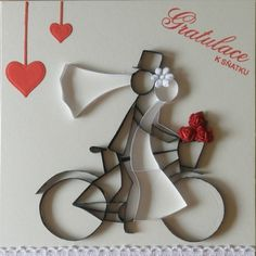 Drawing, Quilling, Cookie Cutters, Wedding Cards, Groom, Scrapbook, Bride, Tattoos, Cnc
