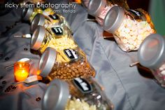 Fun wedding idea: self-serve candy bar.  www.miamiphotographer.net