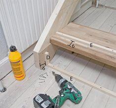 Så enkelt lager du din egen trapp - viivilla.no House, Staircases, Home, Homes, Houses