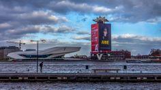 Eye for you in #Amsterdam aan het IJ!