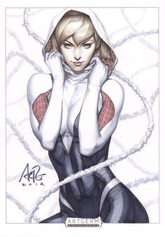 Spider-Gwen by Artgerm
