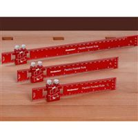 """Woodpeckers One-Time Tool Paolini Rule 3-piece Set 6""""/8""""/12"""" - Inch Markings"""