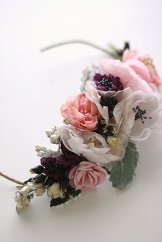 https://flic.kr/p/9K4kKL | halo2 | Handmade flowers with vintage accents by Twigs & Honey