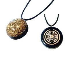 Orgone - Golden Touch (Orgone Pendant Gold (MWO) - Utilize the power of Gold! Scientific Inventions, White Quartz Crystal, Astral Plane, Writing Styles, Black Tourmaline, Smoky Quartz, Never Give Up, Gold Pendant, Pendants