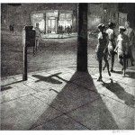 Drama unfolds in Martin Lewis etchings