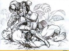 Adepta Sororitas (sisters of battle, сестры битвы) :: Ecclesiarchy :: Imperium :: warhammer 40000 :: сообщество фанатов / красивые картинки и арты, гифки, прикольные комиксы, интересные статьи по теме.
