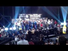 Floyd Mayweather Miguel Cotto weigh in