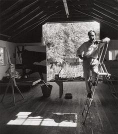 Franz Kline, 1960 by Arnold Newman