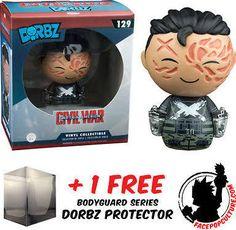 Funko Dorbz Marvel Captain America 3 Crossbones Unmasked Free Dorbz