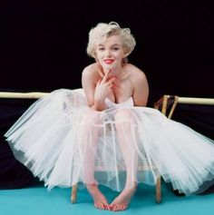 Marilyn Monroe as Ballerina