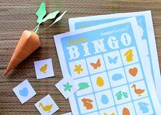 Free printable Easter bingo game!
