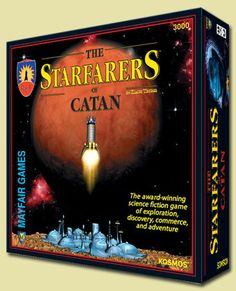 The Starfarers of Catan.   Whaaaaaaaa???? A space version? I think I just died and went to Catan heaven.