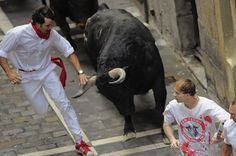 """Free Wood Post - Veteran of 12 """"Running of the Bulls"""" Says """"No Fucking Way"""" He's Going Out On Black Friday"""