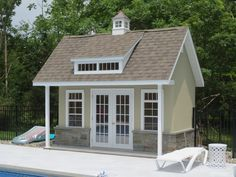 1000 images about pool houses homestead structures on for Garage pool house combos