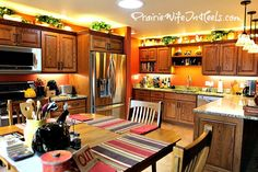 Cozy kitchen with western details