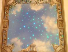 Sternehimmel-Deckengemälde Tobias, Mirror, Home Decor, Mural Painting, Deco, Decoration Home, Room Decor, Mirrors, Home Interior Design