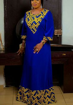 Gorgeous Mide Martins in Royalty Collections for Zanzee Spa: See Photos Modern African Print Dresses, African Dresses For Kids, African Traditional Dresses, Latest African Fashion Dresses, African Dresses For Women, African Print Fashion, Africa Fashion, African Attire, African Prints