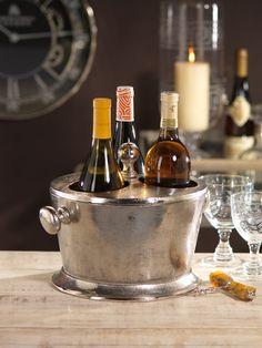 Raw Aluminum Three Bottle Wine Holder #homedecor #home #decor #design #bar #barware #interiordecorating #wine #wineholder http://www.carlyleavenue.com/collections/whats-new/products/raw-aluminum-three-bottle-wine-holder