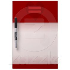 Red Equality Heart dry erase boards