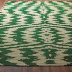 emerald dhurrie rug (4 colors)