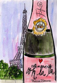 Ooh la la Champagne by Fifi Flowers